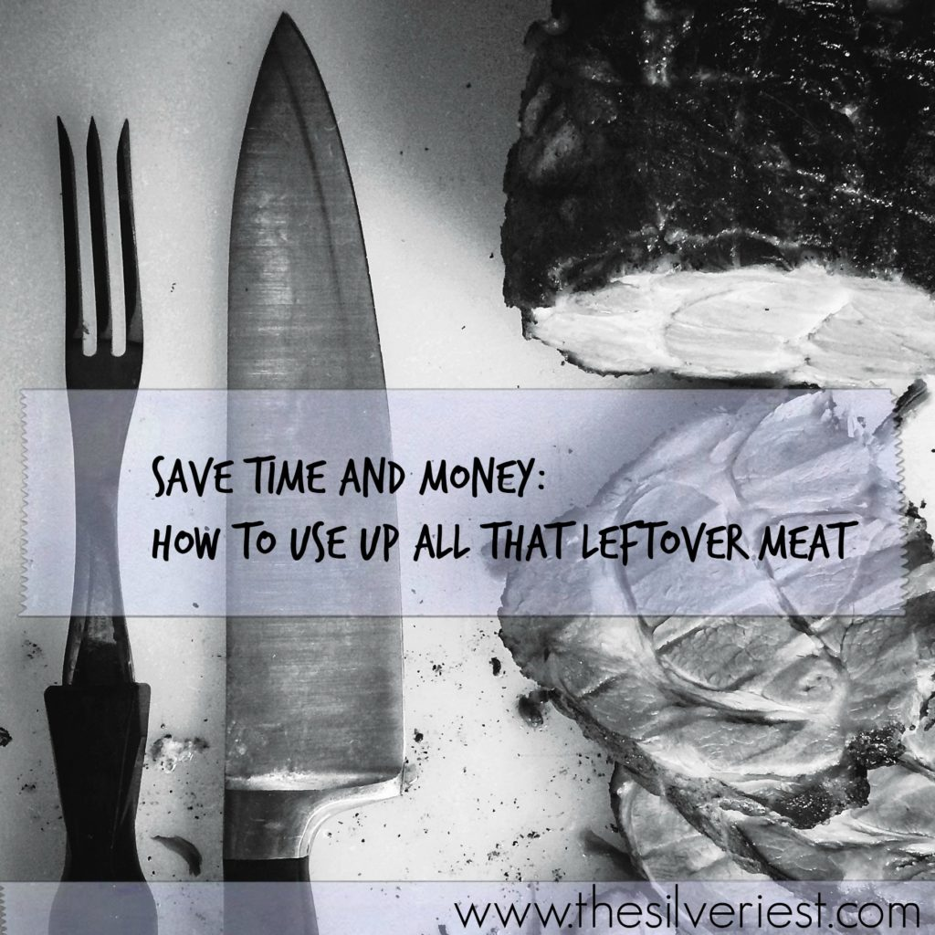 Large amounts of leftover meat doesn't have to mean eating the same thing for days. Here is an easy-to-use process that will help you save time and money! www.thesilveriest.com
