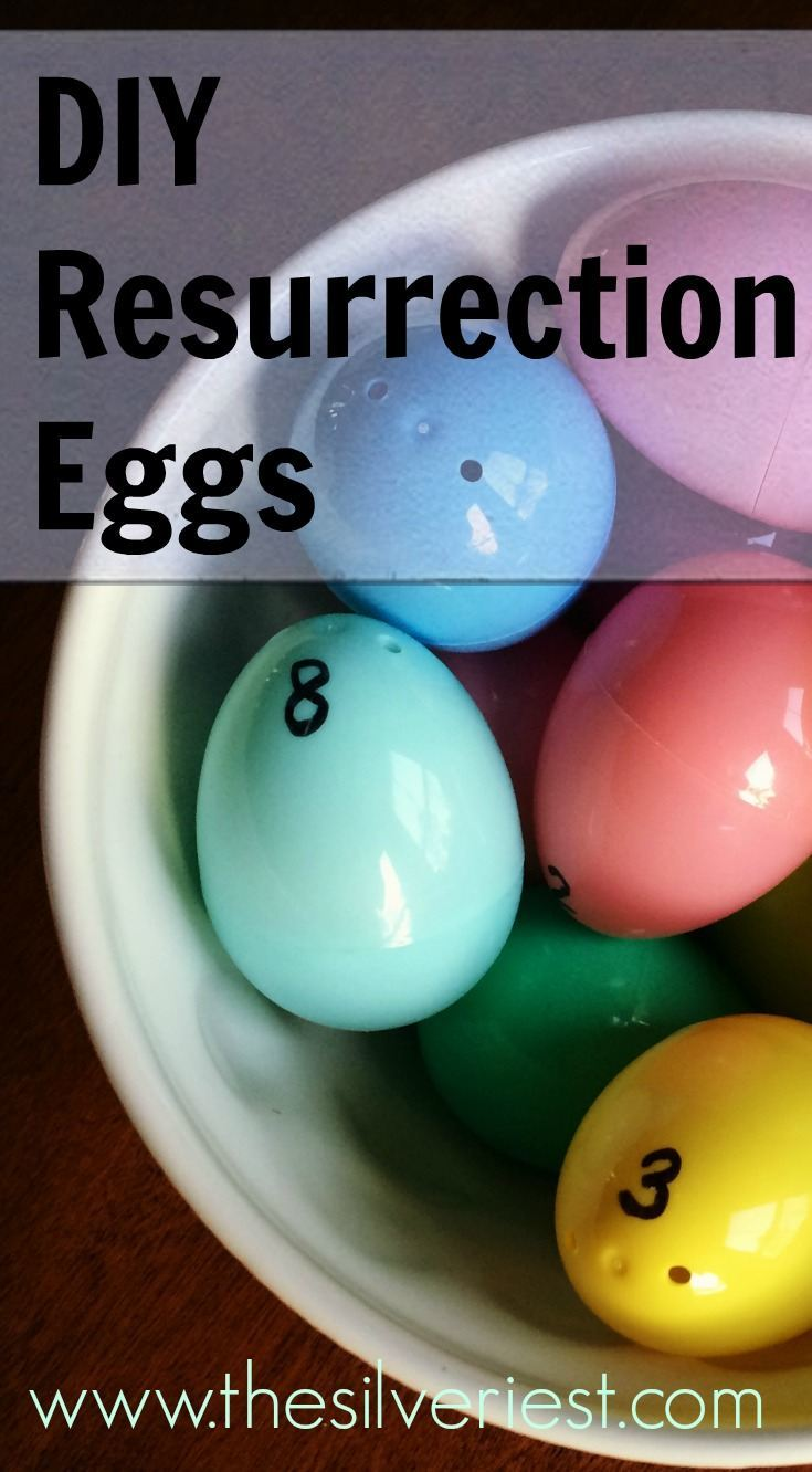 Use this guide to put your own Resurrection Eggs set together in just a few minutes. It's easy and practically free! www.thesilveriest.com