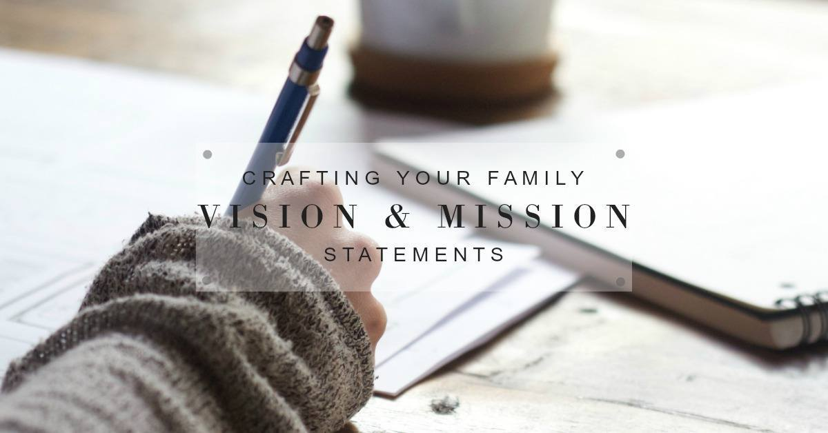 This post will help clarify the difference between a family vision and mission, and help you to create your own family statements.www.thesilveriest.com